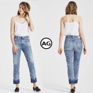AG The Phoebe Vintage High Waisted Tapered Leg 18Y